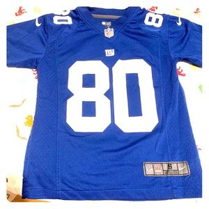 Giants Boys Size S Blue Jersey Pre-Owned